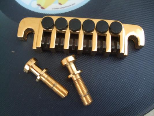 Gibson cordal TP-6 dorado con microafinadores