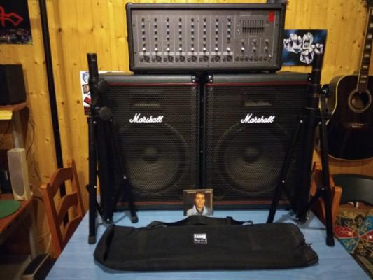 Equipo de voces Marshall & Fender