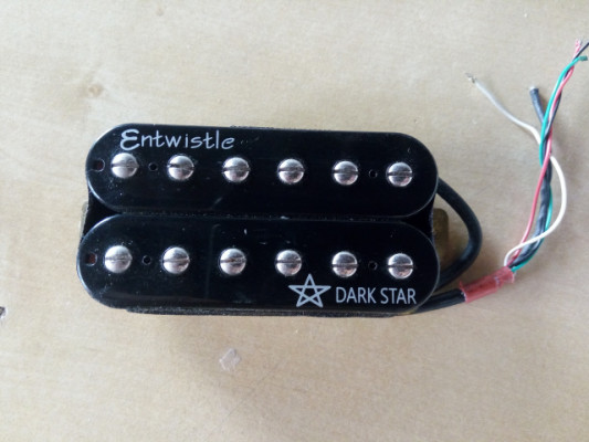 Pastilla ENTWISTLE DARK STAR   HUMBUCKER