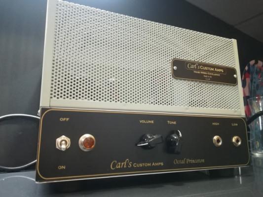 Carl´s Custom Amps. Recreación de un Fender (early) Tweed Princeton. Fabricado a mano en USA. Impecable.