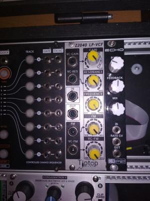 Synthrotek echo eurorack modular