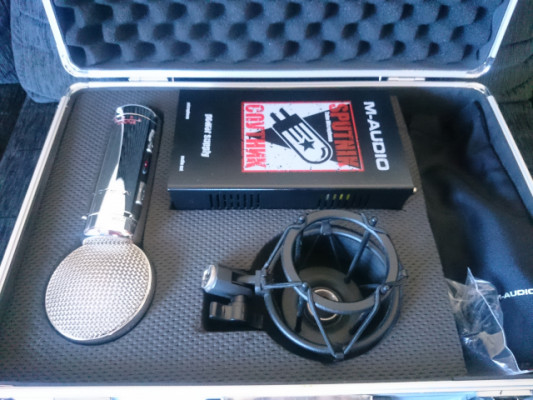M-Audio Sputnik (Micro a válvulas) PVP: 463€
