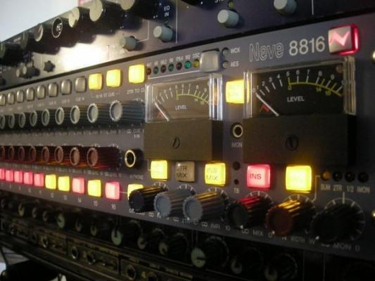 Sumador Neve 8816 (o cambio por Compresor/EQ)