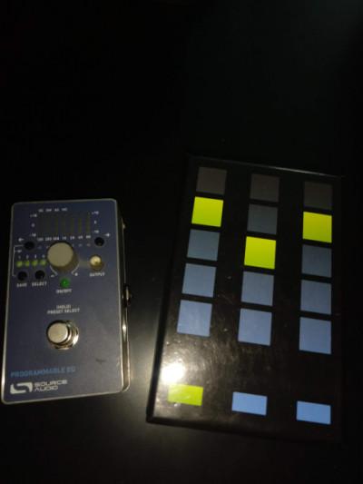 SOURCE AUDIO PROGRAMABLE EQ  equalizador