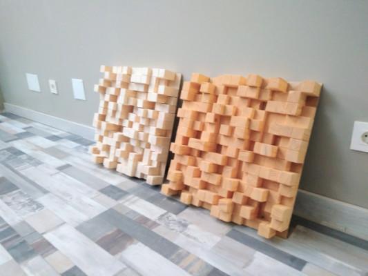 Difusor QRD en madera de abeto