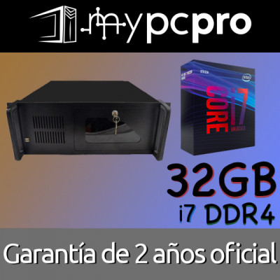 Mac OS Rack Hackintosh Pro i7 32 GB RAM DDR4 1 TB SSD CustoMac / Windows