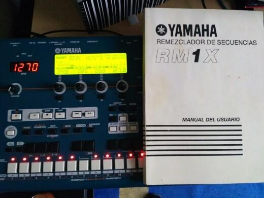 Yamaha rm1x impecable