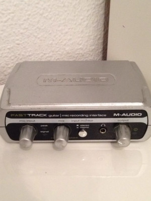 Tarjeta M-Audio Fast Track