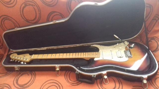 Fender Stratocaster American Fat Strat Texas Special