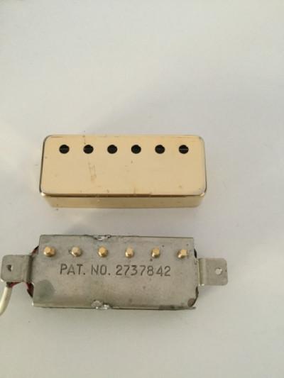 Recambio Mini Humbucker Gibson Dorada *Leer Bien*Modificada