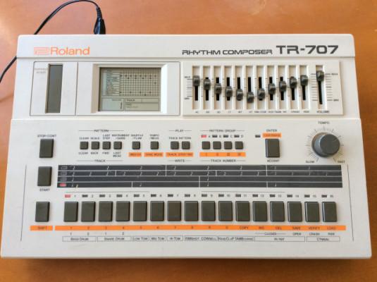 Caja de ritmos Roland Tr707