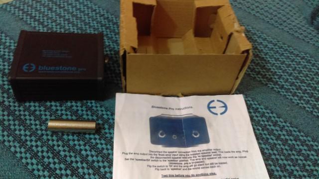 se vende dummy box bluestone pro..