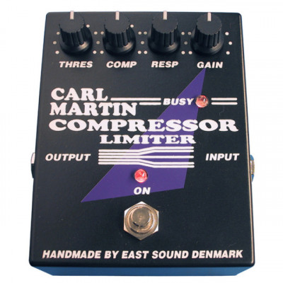 Pedal compresor Carl Martin Compressor / Limiter