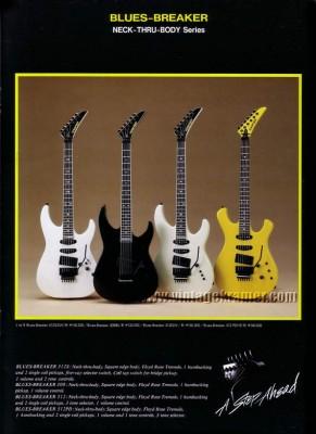 Guitarra Kramer BluesBreaker 1987