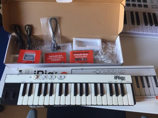 Teclado controlador midi IK Multimedia iRig Keys 37