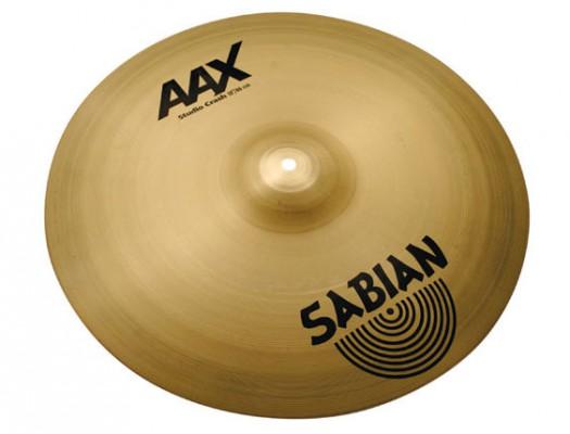 """Sabian 18"""" AAX Studio Crash"""
