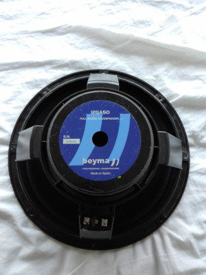 altavoces BEYMA 12GA50
