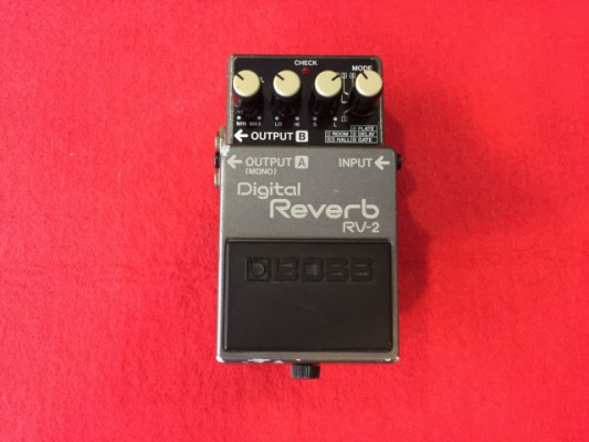 BOSS DIGITAL REVERB RV 2