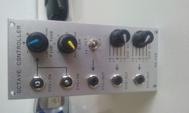 RS-420 Octave Controller Analogue Systems