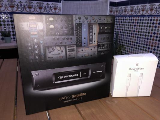 Universal audio uad-2 tb quad core