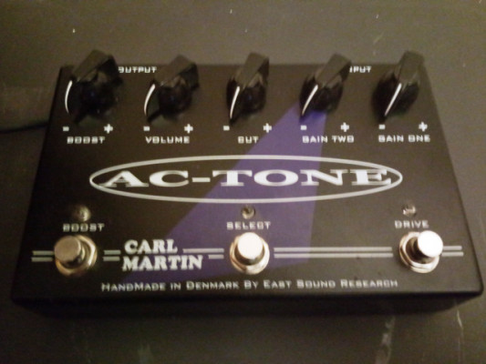 Carl Martin AC Tone (tambien CAMBIO por Single Channel)
