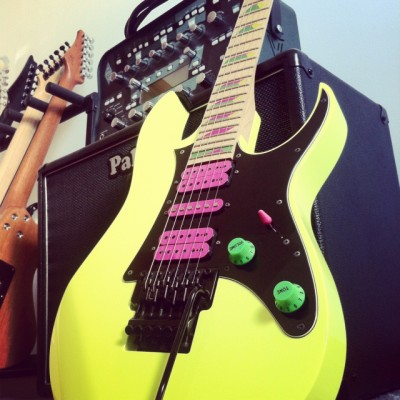 Ibanez RG550 20th Anniversary (Desert Yellow)