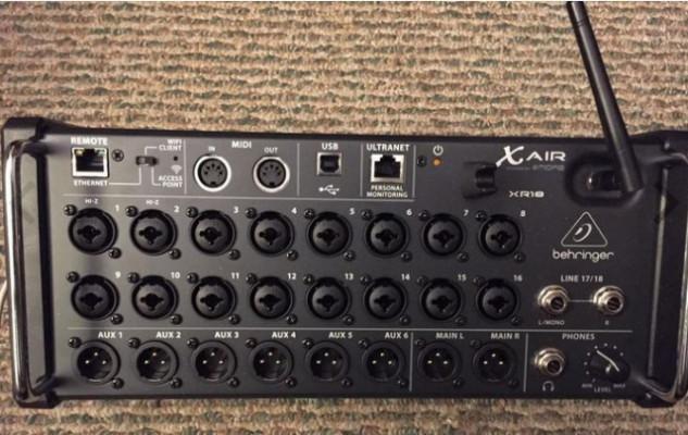Behringer XR18-Air 18-Channel, 12-Bus Digital Mixer
