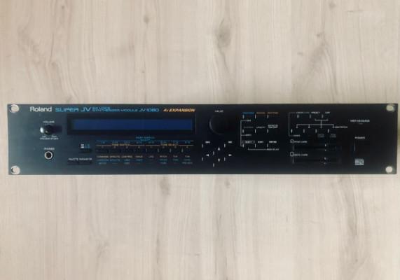 Roland Super JV-1080 + 3 expansiones (una sin abrir)