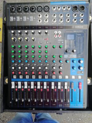Mesa de mezclas Yamaha MG12XU USB con Efectos.