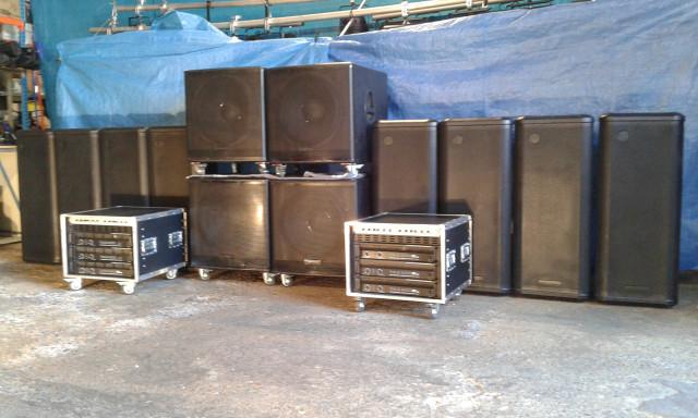 Vendo equipo de sonido de 14.400W divisible en 2
