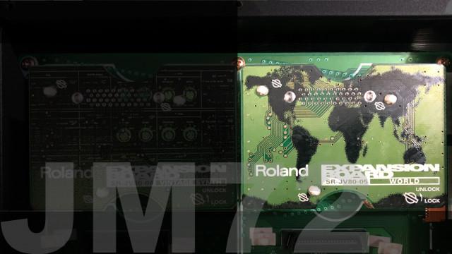 Tarjeta Roland SR-JV80-05 World