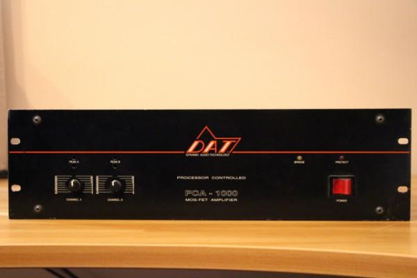 Etapa amplificador DAT PCA 1000