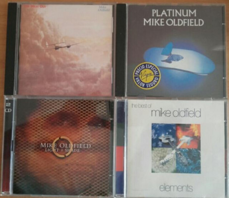 Mike Oldfield.Coleccion. 7Cds. 1Lp.