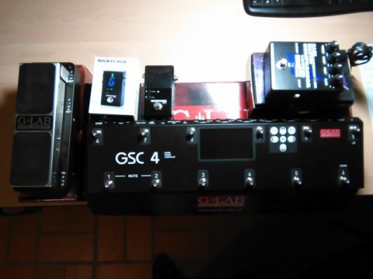 Últimos pedales !!! g-lab GCS-4,Wowwe wah, Carl Martin compresor/limiter, Rocktuner.