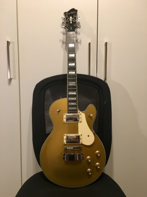 Hagstrom Swede Gold Top + Estuche