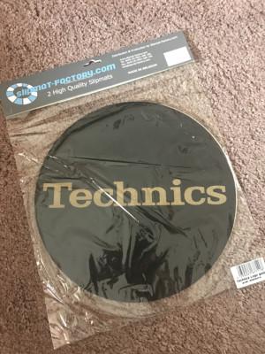 Slipmats Technics Gold
