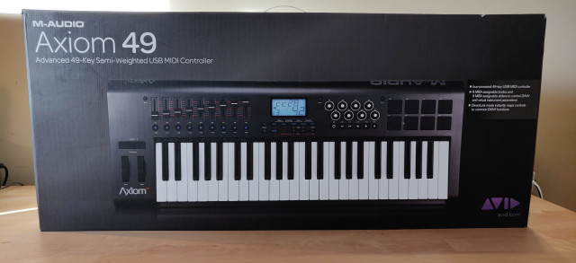 Teclado MIDI M-Audio Axiom 49