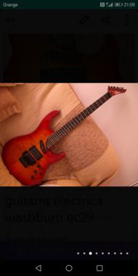 guitarra eléctrica washburn ec29