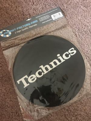 Slipmats Technics silver