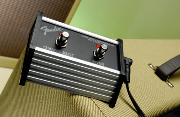 Footswitch Fender amp Blues Deluxe, Stage 112, Roc Pro, The Twin, Deluxe, Champ, Performer
