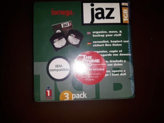 Iomega jaz pack de 3 cintas 1Gb