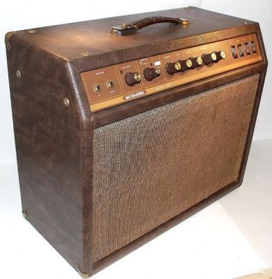 Ampli válvulas vintage Acoustic G60T