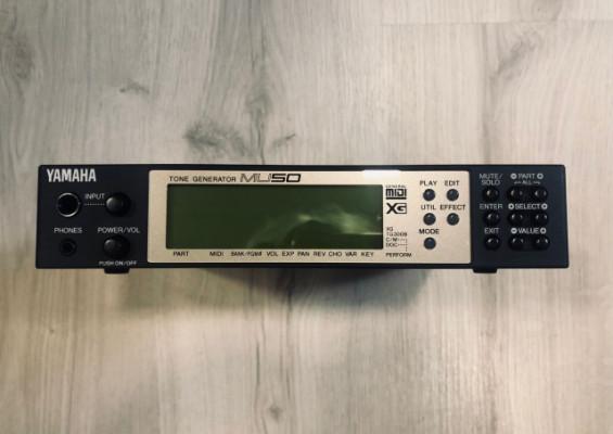 Yamaha Sound modulator MU-50XG