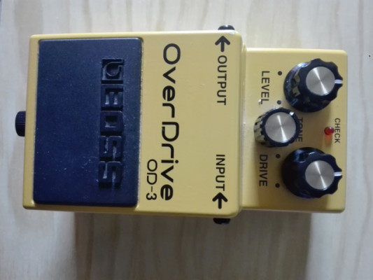 Pedal over drive Boss OD 3