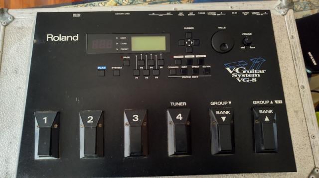 Roland VG-8 + GK2-A