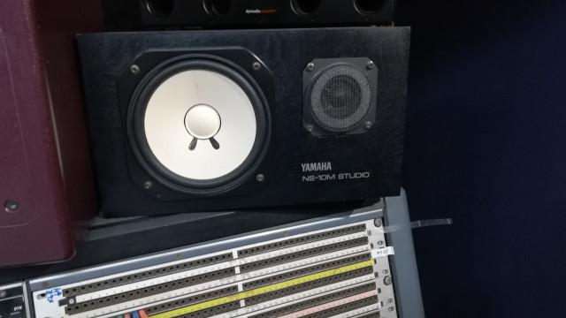 NS 10studio y etapa Yamaha a100 compañwra