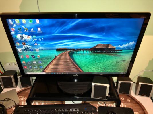 Monitor/pantalla de PC 27 pulgadas ACER K272HL
