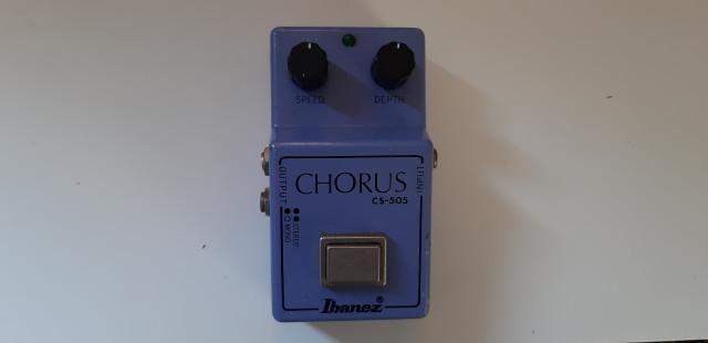 O cambio Ibanez CS505 Chorus Vintage original 80's