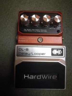 Delay / Looper DL-8 Hardwire