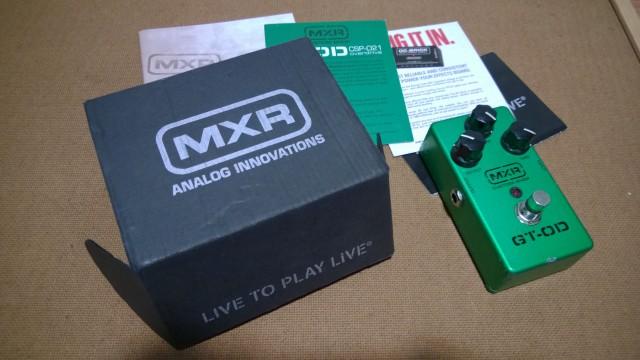Pedal Guitarra Overdrive MXR GT-OD